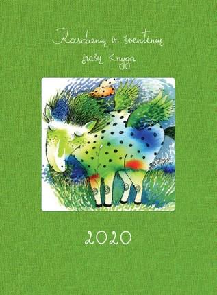 Kasdienių ir šventinių įrašų knyga 2020 m. DK2