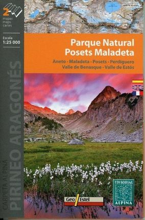 Parque Natural Posets Maladeta 1 : 25 000