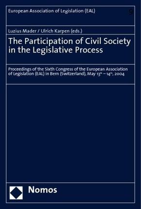 The Participation of Civil Society in the Legislative Process