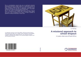 A missional approach to school dropout