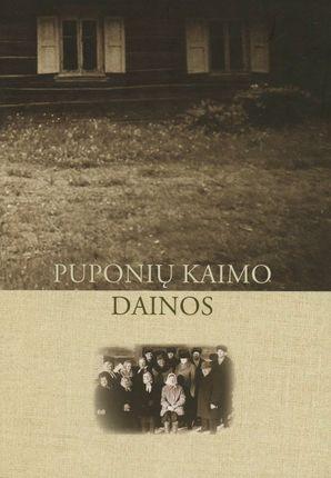 Puponių kaimo dainos (su CD)