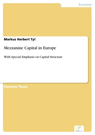 Mezzanine Capital in Europe