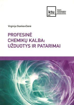 Profesinė chemikų kalba: užduotys ir patarimai
