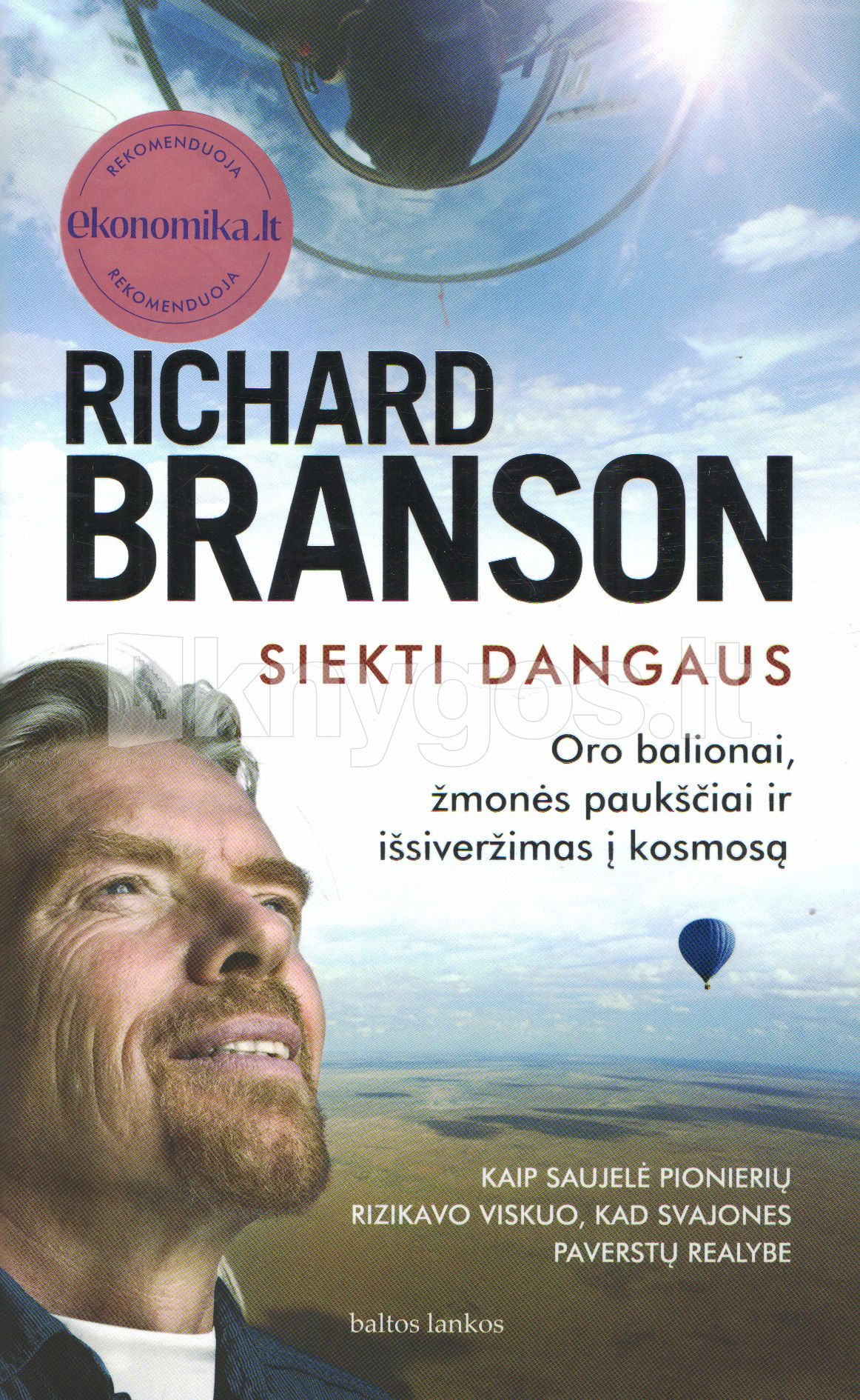 Siekti dangaus, Richard Branson: Knyga [9789955235996 ...