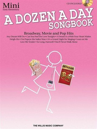 A Dozen a Day Songbook, Mini: Early Elementary [With CD (Audio)]