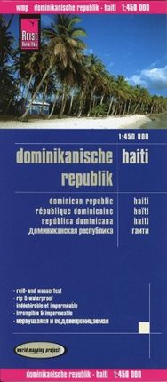 Reise Know-How Landkarte Dominikanische Republik, Haiti 1 : 450.000