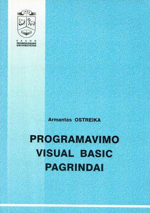 Programavimo visual basic pagrindai