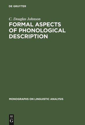 Formal Aspects of Phonological Description