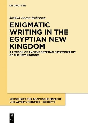 A Lexicon of Ancient Egyptian Cryptography of the New Kingdom