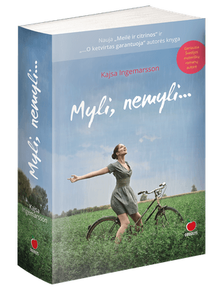 MYLI, NEMYLI... Trečiasis vienos populiariausių švedų rašytojų romanas, šiltai pasakojantis apie moters laimės paieškas chaotiškame ir neramiame pasaulyje