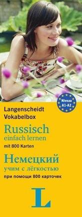Langenscheidt Vokabelbox Russisch einfach lernen - für Anfänger und Wiedereinsteiger