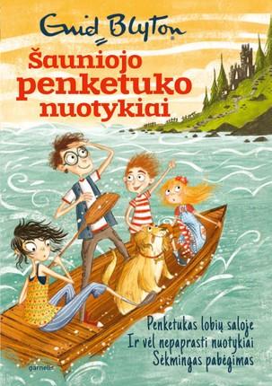 Šauniojo penketuko nuotykiai. 1 knyga. Penketukas lobių saloje. Ir vėl nepaprasti nuotykiai. Sėkmingas pabėgimas