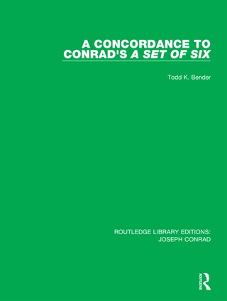 A Concordance to Conrad's A Set of Six