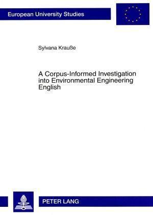 A Corpus-Informed Investigation into Environmental Engineering English