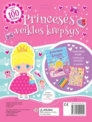Princesės veiklos krepšys