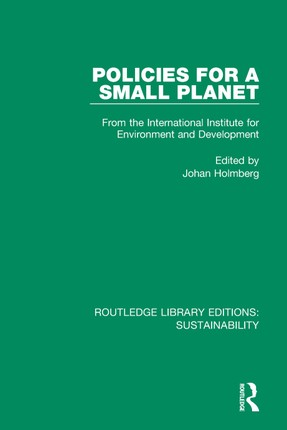 Policies for a Small Planet