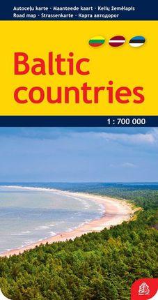 Baltijos valstybės. Kelių žemėlapis