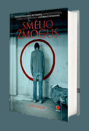 SMĖLIO ŽMOGUS: naujas pasaulinių bestselerių HIPNOTIZUOTOJAS, PAGANINIO KONTRAKTAS ir UGNIES LIUDININKAS autoriaus romanas