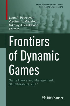 Frontiers of Dynamic Games