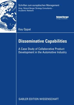 Disseminative Capabilities