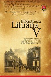 Bibliotheca Lituana V