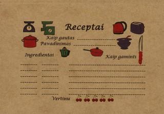 Receptų užrašai