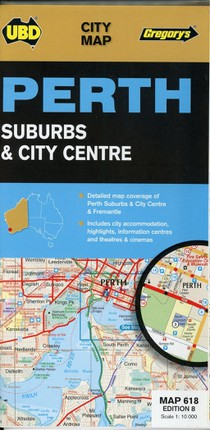 Perth City Streets & Suburbs 1 : 25 000