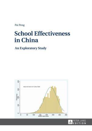 School Effectiveness in China