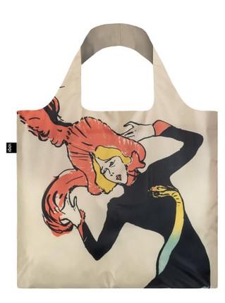 """LOQI pirkinių krepšys """"TOULOUSE LAUTREC Jane Avril & Aristide Bruant"""""""