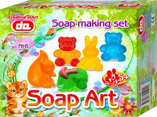 """""""Soap Art"""" muilo kūrybos rinkinys. Gyvūnai"""