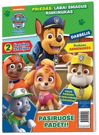 Šunyčiai patruliai. Paw Patrol. Žurnalas. Nr 4