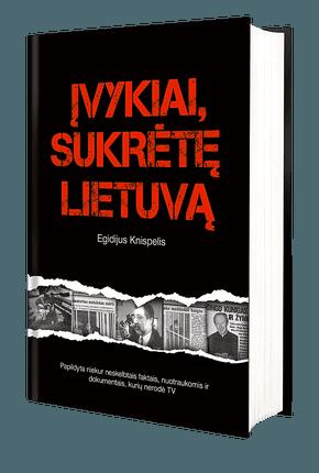 ĮVYKIAI, SUKRĖTĘ LIETUVĄ: Egidijaus Knispelio kriminalinis bestseleris su nepublikuotais dokumentais ir nuotraukomis - paskutiniai egzemplioriai!