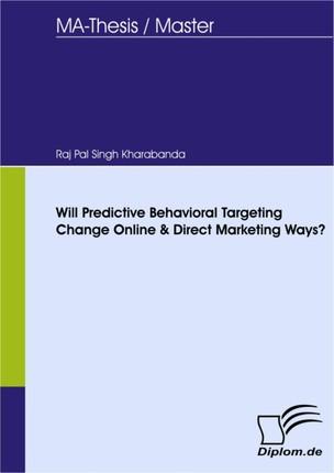 Will Predictive Behavioral Targeting Change Online & Direct Marketing Ways?