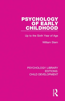 Psychology of Early Childhood
