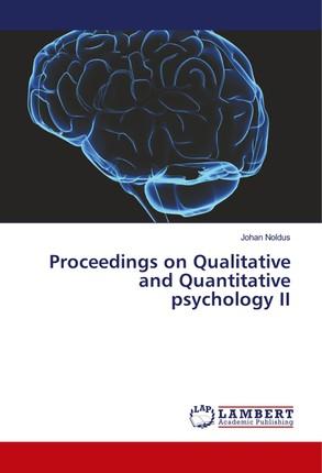 Proceedings on Qualitative and Quantitative psychology II