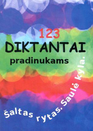 123 diktantai pradinukams