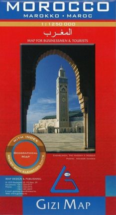 Morocco Geographical Map 1 : 1 250 000