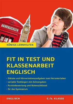 Fit in Test und Klassenarbeit - Englisch 5./6. Klasse Gymnasium