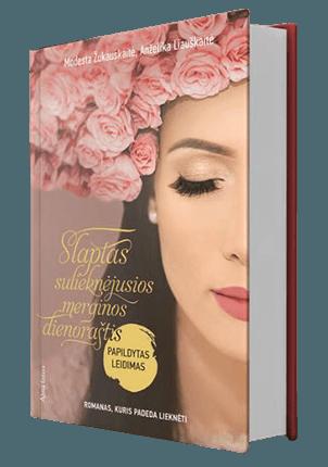 Slaptas sulieknėjusios merginos dienoraštis: romanas, kuris padeda lieknėti (papildytas leidimas)