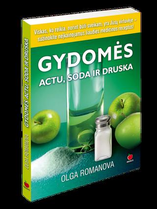 Gydomės actu, soda ir druska