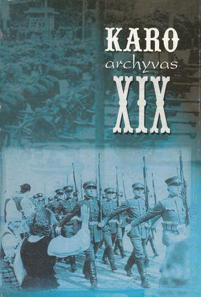 Karo archyvas XIX