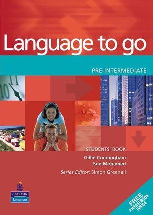 Language to Go. Pre-Intermediate Students' Book with Phrasebook