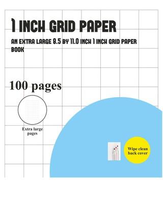 1 Inch Grid Paper Book