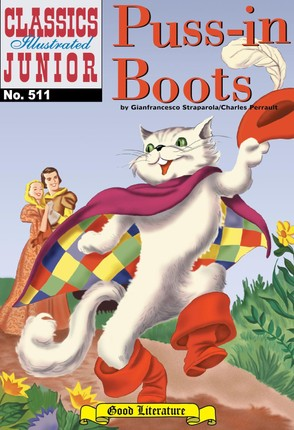 Puss-In-Boots (with panel zoom)    - Classics Illustrated Junior