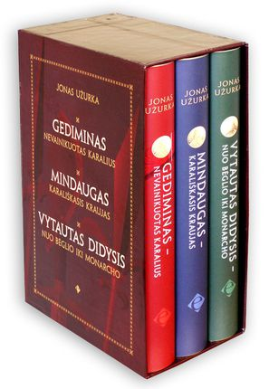 Lietuvos istorija romanuose. Mindaugas, Gediminas, Vytautas Didysis