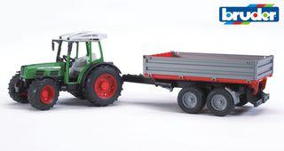 BRUDER traktorius su priekaba 209s, 02104