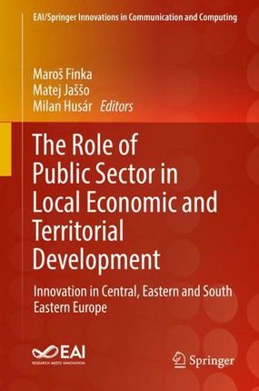 The Role of Public Sector in Local Economic and Territorial Development