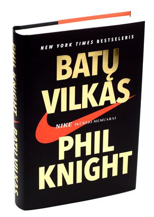 BATŲ VILKAS: NIKE įkūrėjo memuarai. Tai knyga apie tikėjimą beprotiška idėja ir neįveikiamą sporto galią. Sužinokite, su kokiomis siaubingomis kliūtimis jam teko susidurti ir kaip per naktį tapo milijonieriumi