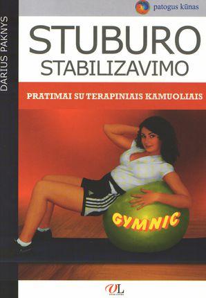 Stuburo stabilizavimo pratimai su terapiniais kamuoliais