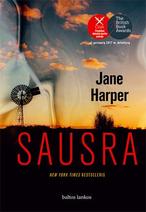 SAUSRA: pagrindinius 2016 m. detektyvinės literatūros apdovanojimus pelniusi knyga!